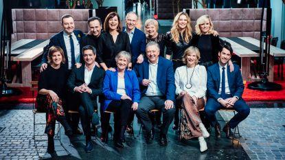 30 jaar VTM-nieuwsankers op 1 foto