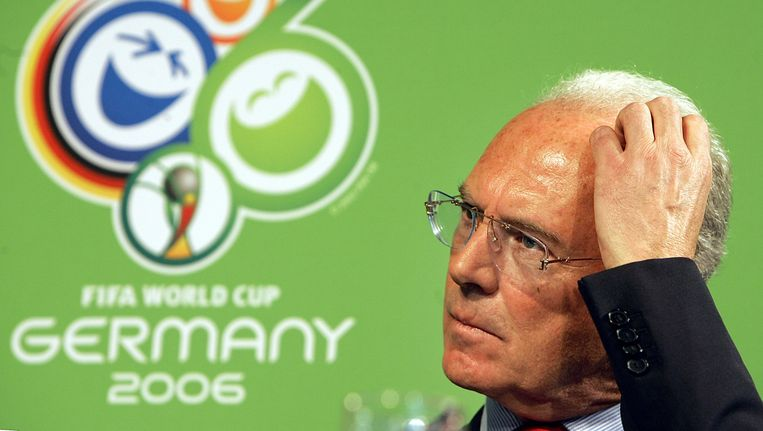 Franz Beckenbauer in 2006. Beeld ap
