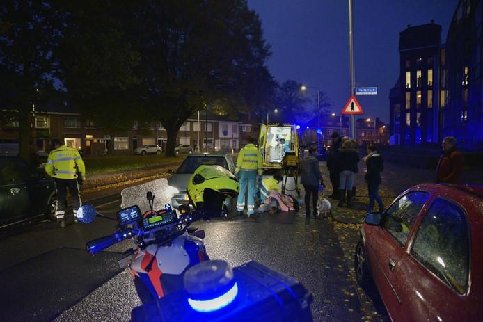 Een voetganger werd geschept bij het oversteken van het Transvaalplein.