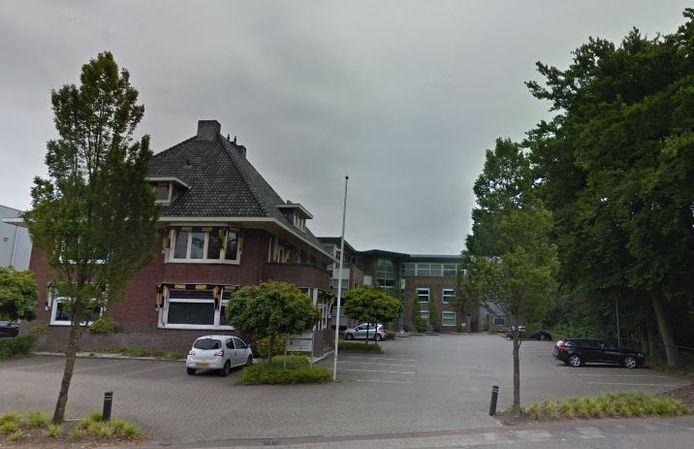 Het gemeentehuis van Scherpenzeel