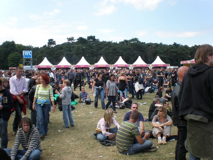 Sfeerbeeld van het laatstgehouden Arrow Rock-festival in Nijmegen. Foto: Rob Jaspers/De Gelderlander
