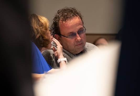 Rick van Velthuysen vorige week, tijdens zijn laatste vergadering als VVD'er.