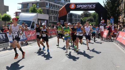 Sporters lopen Kaairun in felle zon