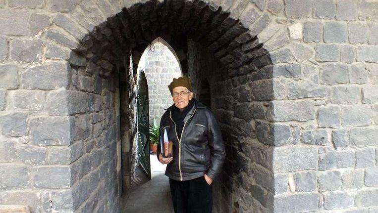 Pater Frans van der Lugt Beeld afp