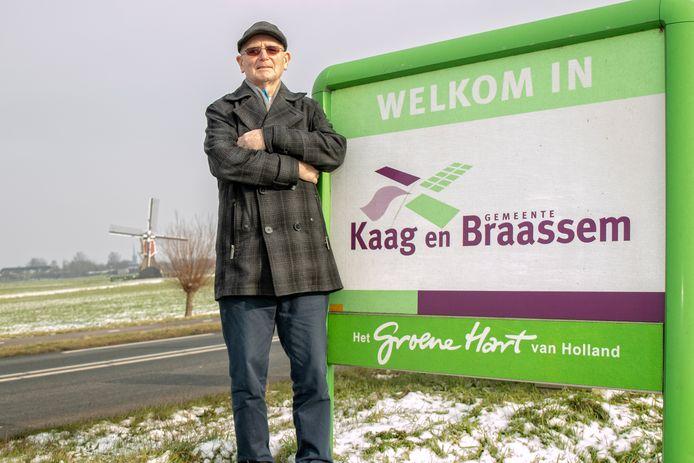 """Job Grovenstein, Hoogmadenaar en oud-gemeenteraadslid: ,,We zijn maar een kleine gemeenschap."""""""