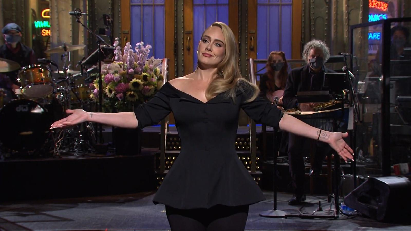 """Adele, présentatrice du """"Saturday Night Live"""" de ce samedi 24 octobre 2020."""