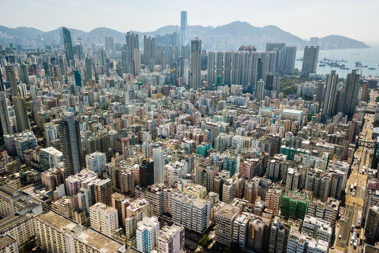 In Hongkong komen de meeste kopers uit de directe omgeving. Beeld ANP