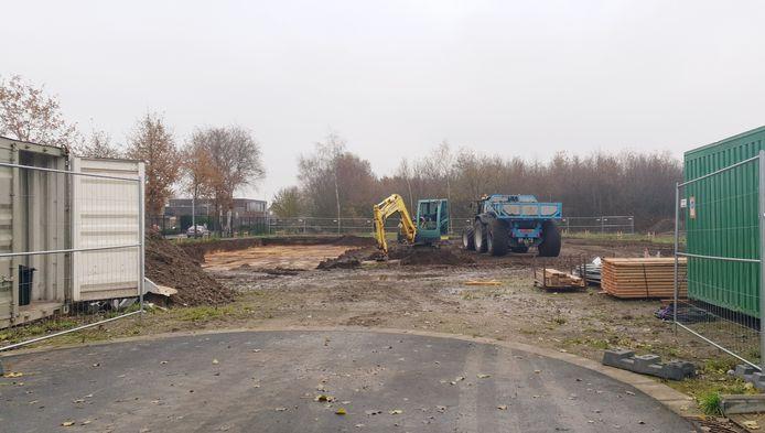 De bouwwerken werden meteen stilgelegd.
