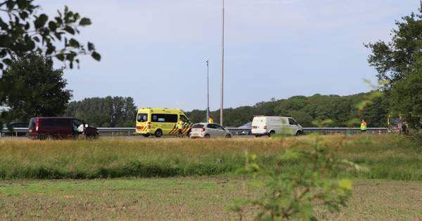 A1 na kettingbotsing in spits potdicht tussen Hoevelaken en Barneveld.