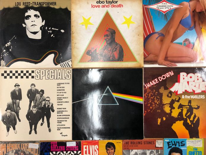 Het Vinylparadijs uit Geesteren levert ook heel wat platen aan, dus is er genoeg aanbod.