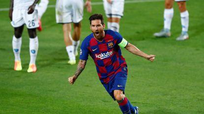 Messi bezorgt FC Barcelona plaats in 'Final Eight', Mertens mist gouden kans in Camp Nou