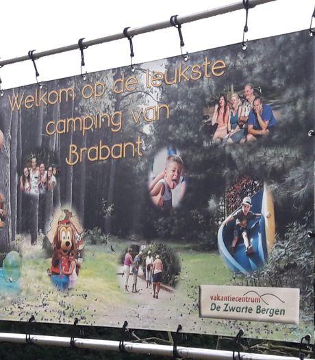 Op de camping in Luyksgestel is de lol er af