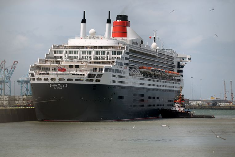 Het luxeschip Queen Mary 2.