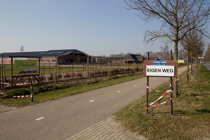 De Snoertsebaan in Liessel .