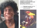 De foto van Leonardo van Lenthe als zwarte piet (rechts) werd in eerste instantie door Facebook verwijderd. De inhoud zou 'haatdragend' zijn.