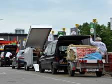 Afvalstations HVC blijven open: 'Veel mensen geven gehoor aan oproep niet te komen'
