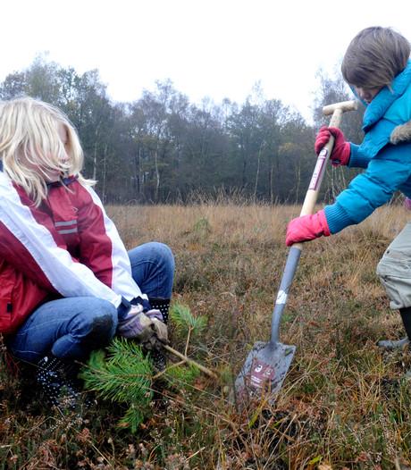 Nieuwbouwwijken Uden krijgen een fruitboomgaard op Natuurwerkdag