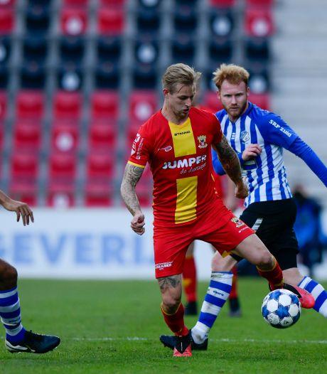 Brouwers en Rabillard terug bij GA Eagles voor duel met NEC, blessure Van Kippersluis