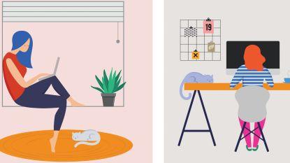 1 op de 3 Belgen doet aan thuiswerken: zo ben je daar even productief als op kantoor