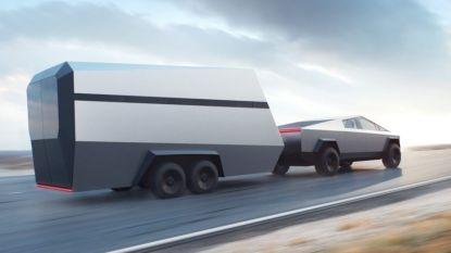 Tesla onthult bijhorende trailer voor Cybertruck