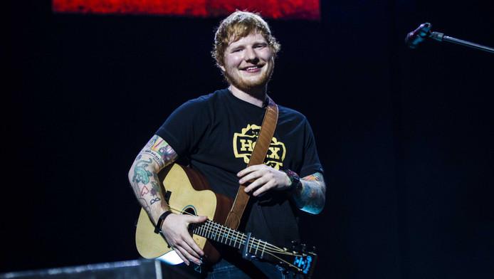 Ed Sheeran in de Ziggo Dome.