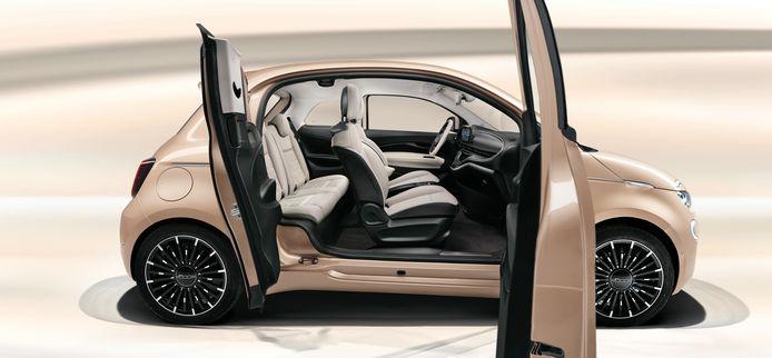 Fiat 500e als 3+1
