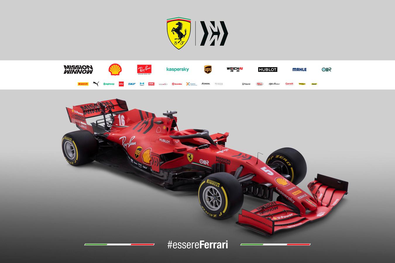 De SF1000 van Ferrari
