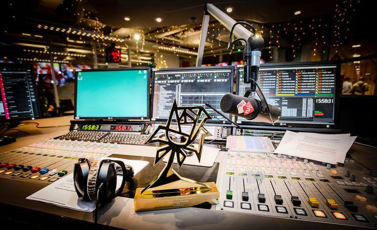 De radiostudio van Radio 2. Beeld ANP Kippa