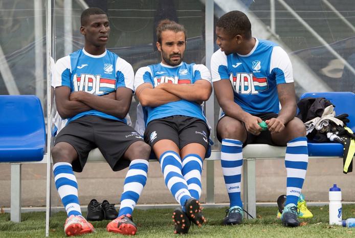 FC Eindhoven gaat niet verder met drie Portugese proefspelers.