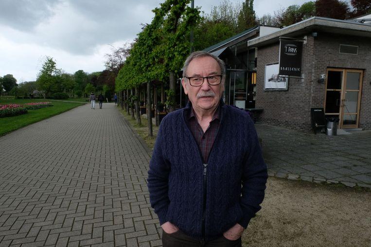 MECHELEN - Zaakvoerder Sam De Graeve voor zijn brasserie in het Vrijbroekpark
