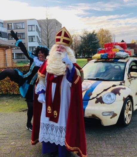 Sinterklaas doet Losser toch aan, via de Dinkel