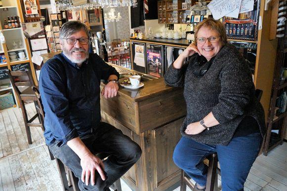 Patrick D'Hont en Mieke De Jaegher van 't Een en 't Ander, op een archieffoto.