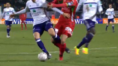 VIDEO: Had Anderlecht hier een penalty verdiend?