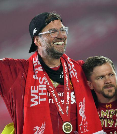 Klopp voor het eerst verkozen tot beste coach van de Premier League