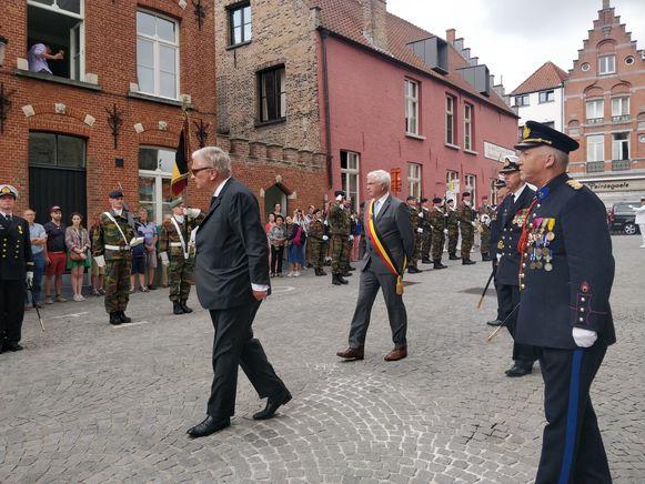 Prins Laurent was aanwezig in Brugge