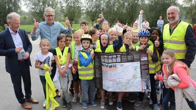 Veilig op de fiets dankzij de Schoolroutekaart