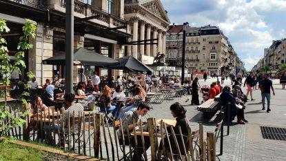 Helft van Brusselse horeca met terras vroeg al vergroting aan