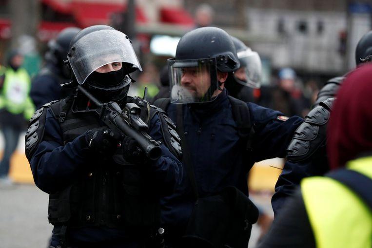 Volgens Castaner was de mobilisatie van politieagenten opnieuw nodig.