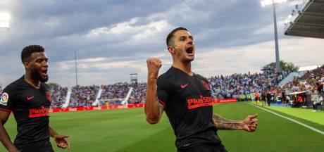 Vitolo schiet Atlético Madrid naar tweede zege