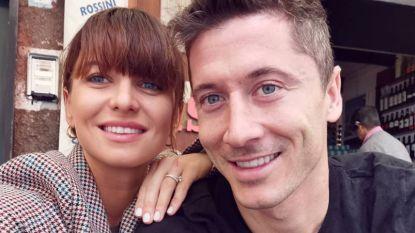 Liefde gaat door de maag: mede dankzij vrouw Anna pronkt Lewandowki met Messi- en Ronaldocijfers