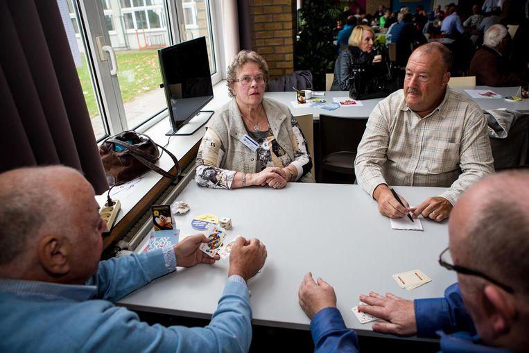 Alice Peys uit Oostende (79) is een verstokt manillenspeelster. Ze vond dat ze haar kans moest wagen op dit eerste WK.