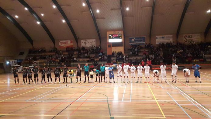 Groene Ster Vlissingen, hier op archieffoto, speelde vrijdagavond in een volle sporthal Baskensburg maar wist niet te winnen van Volendam.
