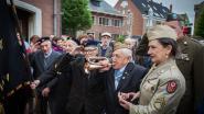Alfons blaast op 100ste verjaardag 'Last Post'