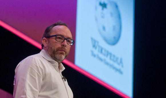 Wikipedia-oprichter Jimmy Wales.