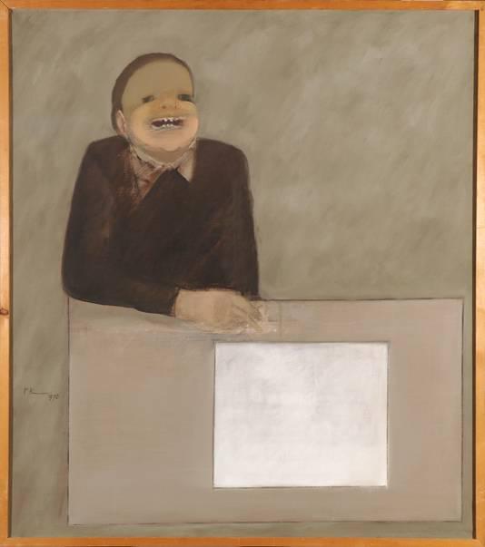 Een schilderij van Peter Kantelberg