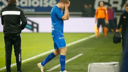 Bekervoetbal op z'n best: vier goals en drie rode kaarten in Gent, dat in return flink aan de bak moet tegen KV Oostende