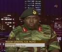 Generaal-majoor S.B. Moyo.