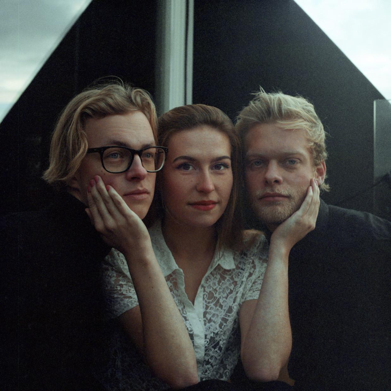 Wies, van links naar rechts Jasper Meurs, Jeanne Rouwendaal en Tobias Kolk.