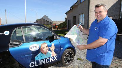 Raadslid Clinckx bezoekt àlle inwoners van Tielt-Winge