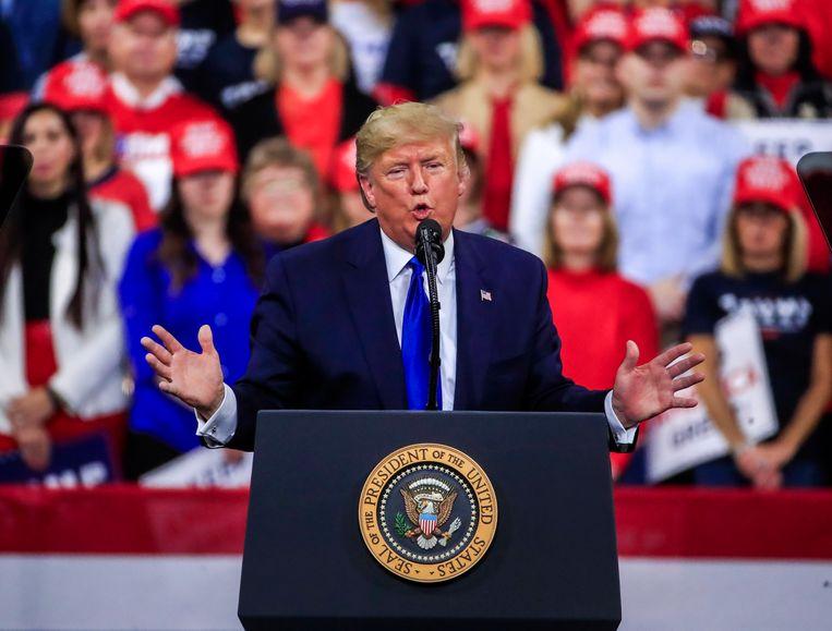 De leden van de voormalige band R.E.M. zijn boos op de Amerikaanse president Donald Trump.
